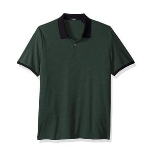 NWT Theory band polo current pique tee